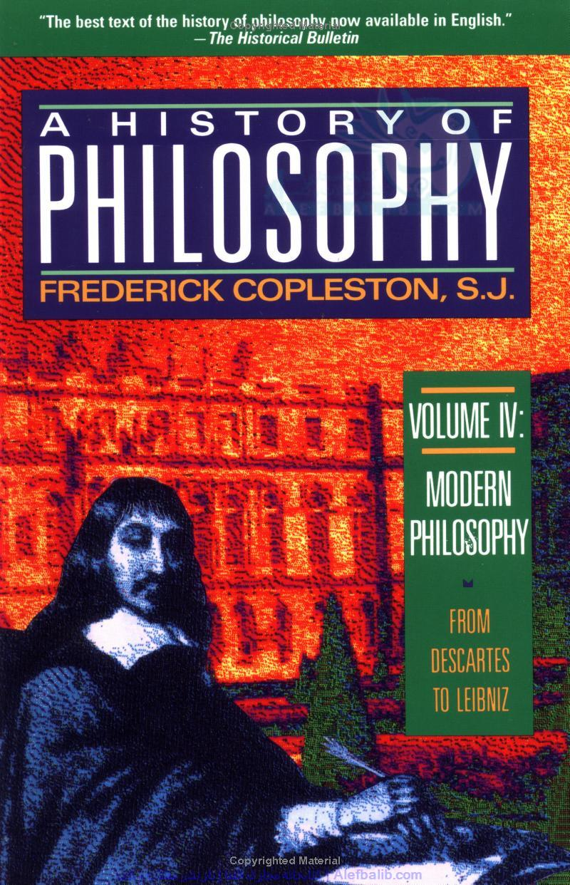 Modern philosophy: from Descartes to Leibnitz