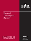 Harvard Theological Review 2010-02